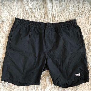 Obey Worldwide black shorts